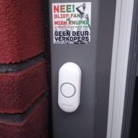 Geen Deur Verkopers - deursticker008_82eb908640468fa8051835cc50f424ab