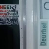 Geen Deur Verkopers - deursticker009_a07103b1f809f5911d0fd1659e141ce7